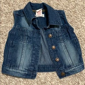 Toddler Jean Jacket Vest 18 m